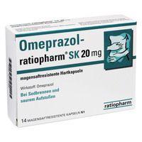 OMEPRAZOL ratiopharm SK 20 mg msr.Hartkaps.