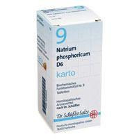 BIOCHEMIE DHU 9 Natrium phosph.D 6 Tabl.Karto