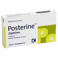 POSTERINE Suppositorien