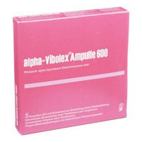 ALPHA VIBOLEX 600 mg Ampullen
