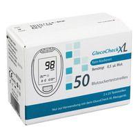 GLUCO CHECK XL Blutzuckerteststreifen