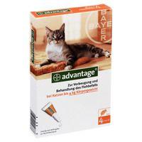 ADVANTAGE 40 Lösung f.Katzen bis 4 kg
