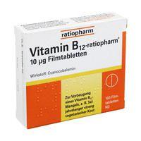 VITAMIN B12 ratiopharm 10 μg Filmtabletten