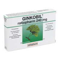 GINKOBIL ratiopharm 240 mg Filmtabletten