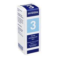 BIOCHEMIE Globuli 3 Ferrum phosphoricum D 12