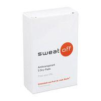 SWEAT OFF Antiperspirant Dry Pads