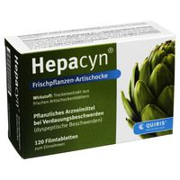 HEPACYN Frischpflanzen Artischocke Filmtabletten