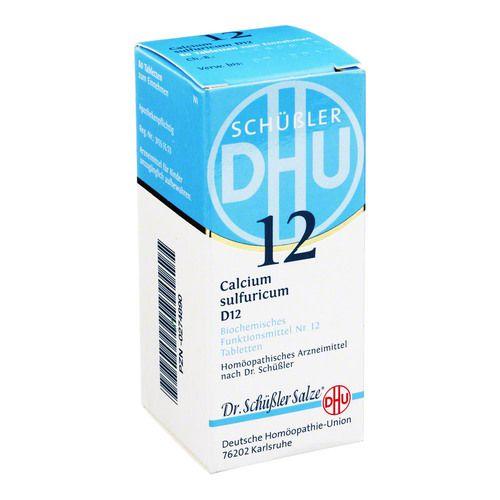 BIOCHEMIE DHU 12 Calcium sulfur.D 12 Tabletten