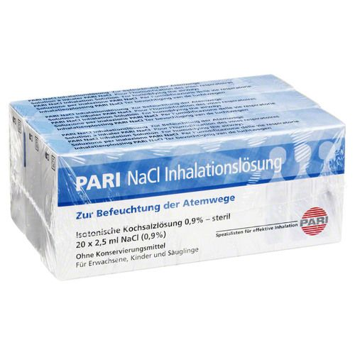 NACL INHALATIONSLOESUNG AMP., 60 x 2,5 ml