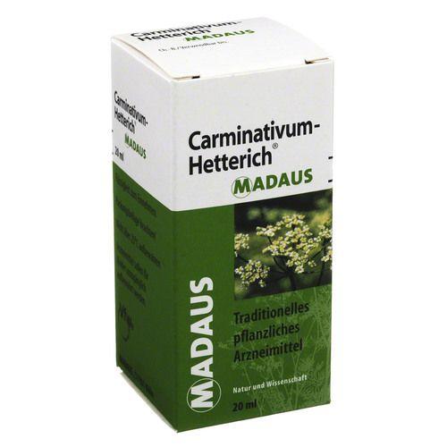 Teofarma s.r.l. CARMINATIVUM Hetterich Tropfen zum Einnehmen 20 ml