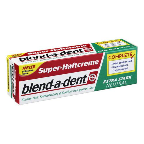 blend a dent super haftcreme neutral 40ml bodfeld apotheke. Black Bedroom Furniture Sets. Home Design Ideas
