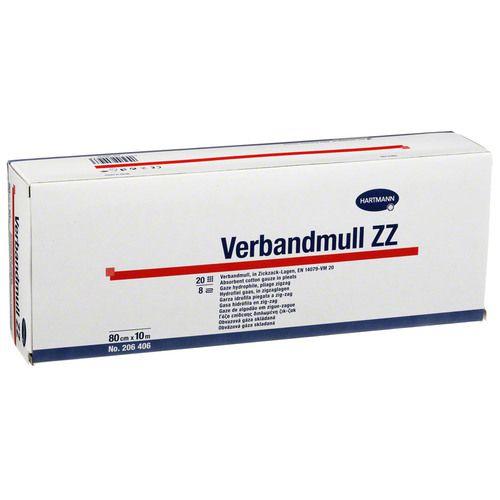 VERBANDMULL Hartmann 10 cmx10 m zickzack