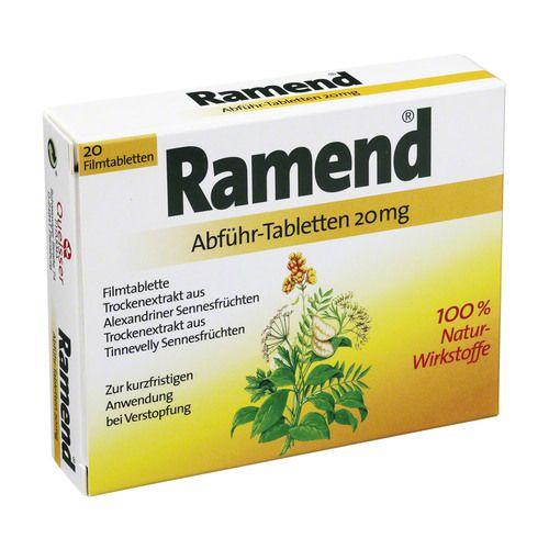 RAMEND Abführtabletten