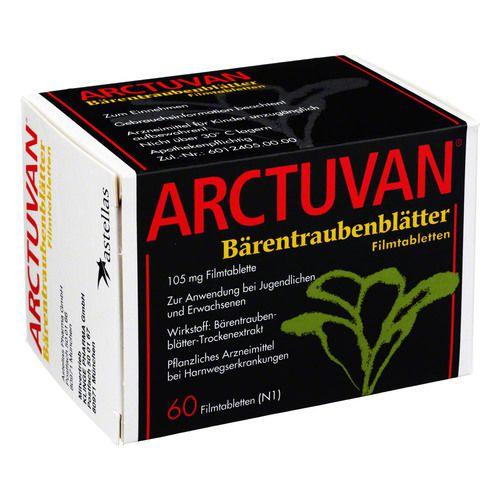 ARCTUVAN Bärentrauben Filmtabletten