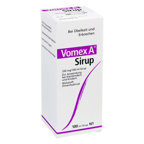VOMEX A Sirup