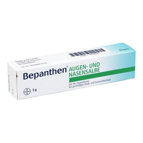 Bayer Vital GmbH BEPANTHEN Augen- und Nasensalbe 5 g