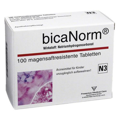 Fresenius Medical Care Deutschland GmbH BICANORM magensaftresistente Tabletten 100 St
