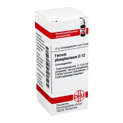 FERRUM PHOSPHORICUM D 12 Globuli
