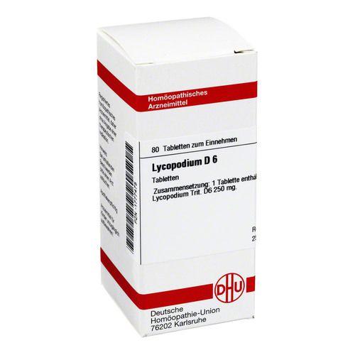 LYCOPODIUM D 6 Tabletten