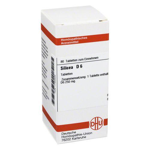 SILICEA D 6 Tabletten