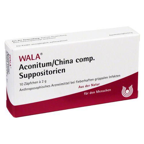 ACONITUM/CHINA comp.Suppositorien