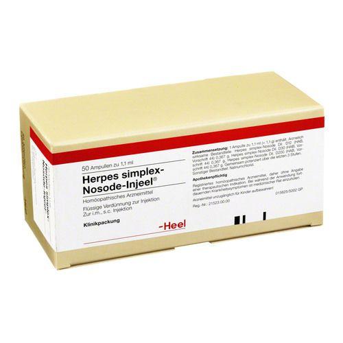 HERPES SIMPLEX Nosode Injeel Ampullen
