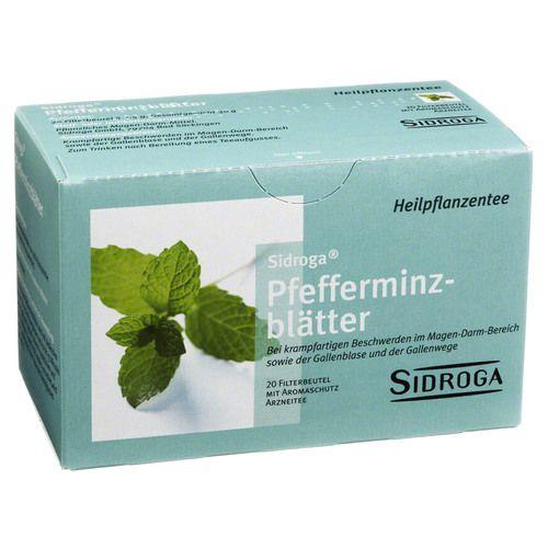 SIDROGA Pfefferminzblätter Tee Filterbeutel