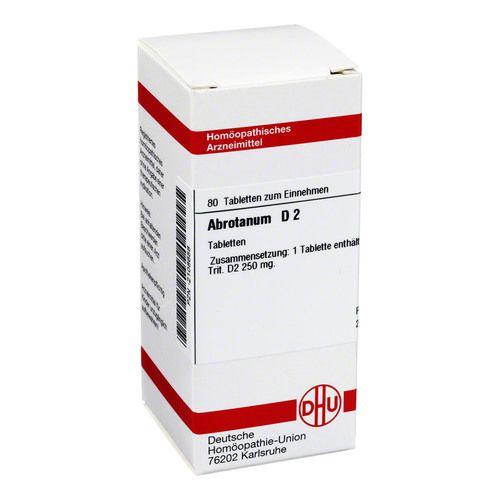 ABROTANUM D 2 Tabletten