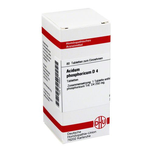 ACIDUM PHOSPHORICUM D 4 Tabletten