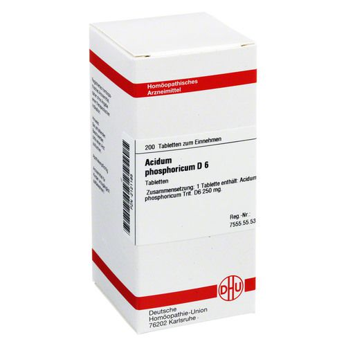 ACIDUM PHOSPHORICUM D 6 Tabletten