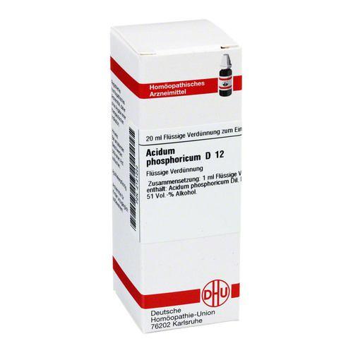 ACIDUM PHOSPHORICUM D 12 Dilution