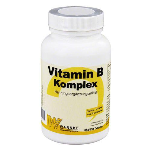 vitamin b komplex tabletten 250 st ohne warengruppe. Black Bedroom Furniture Sets. Home Design Ideas