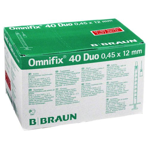 OMNIFIX Duo 40 Insulinspr.1 ml