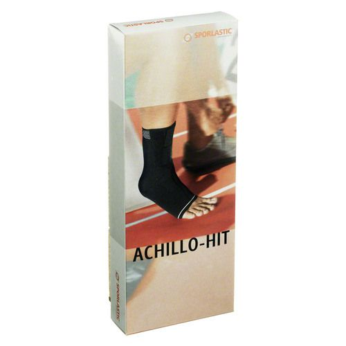 ACHILLO-HIT Bandage links Gr.2 schwarz 07804