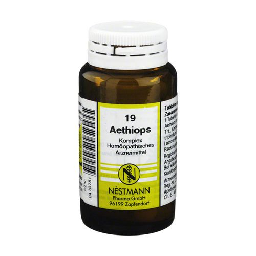 AETHIOPS KOMPLEX Tabletten Nr.19
