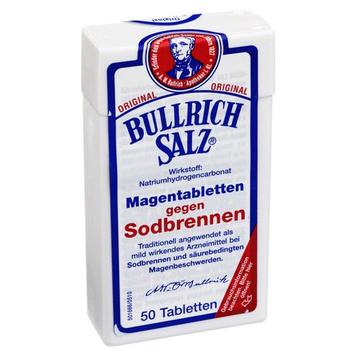 Delta Pronatura Dr. Krauss u. Dr. Beckmann KG BULLRICH Salz Tabletten 50 St
