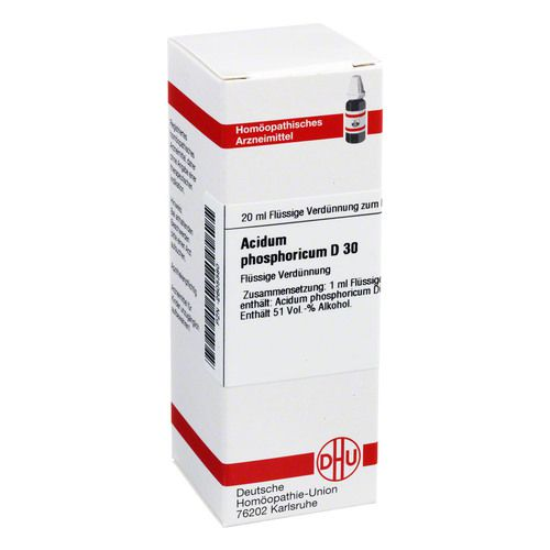 ACIDUM PHOSPHORICUM D 30 Dilution