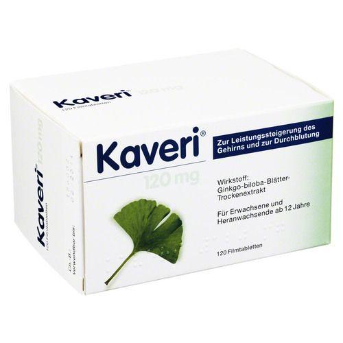 KAVERI 120 mg Filmtabletten