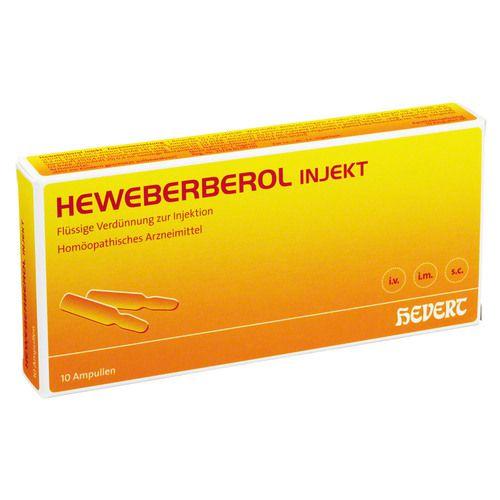 HEWEBERBEROL injekt Ampullen
