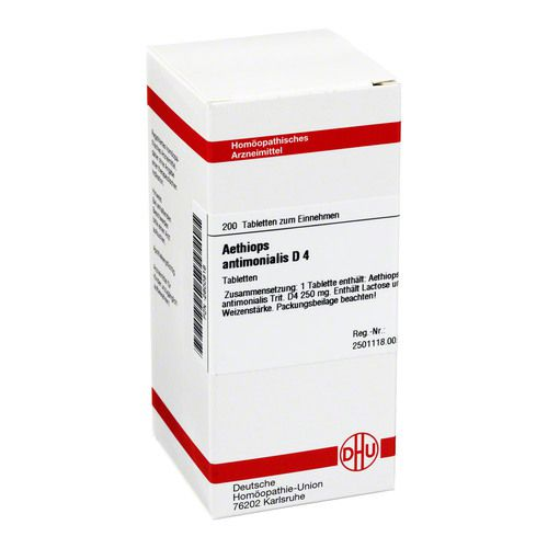 AETHIOPS ANTIMONIALIS D 4 Tabletten