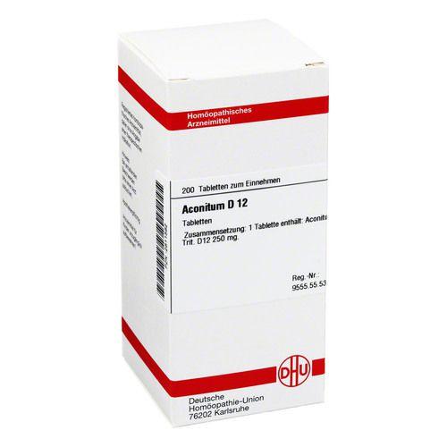 DHU-Arzneimittel GmbH & Co. KG ACONITUM D 12 Tabletten 200 St