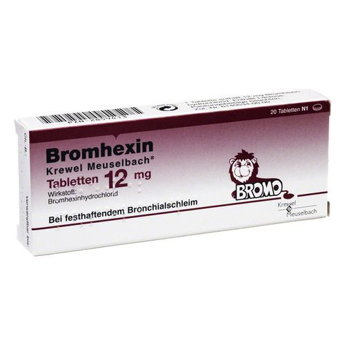 bromhexin krewel meuselb tabletten 12mg g nstig kaufen bio apo versandapotheke. Black Bedroom Furniture Sets. Home Design Ideas