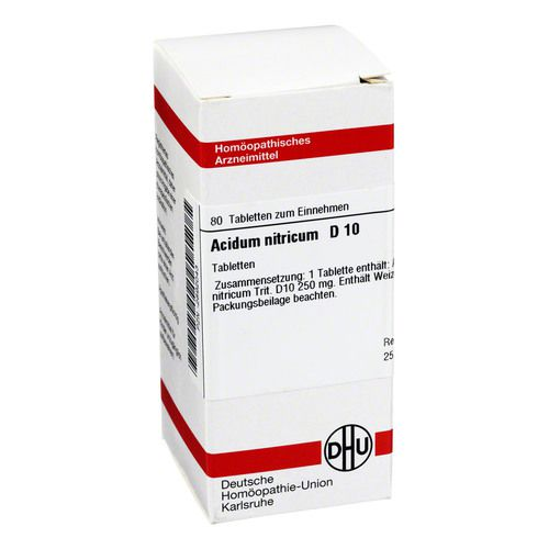 ACIDUM NITRICUM D 10 Tabletten