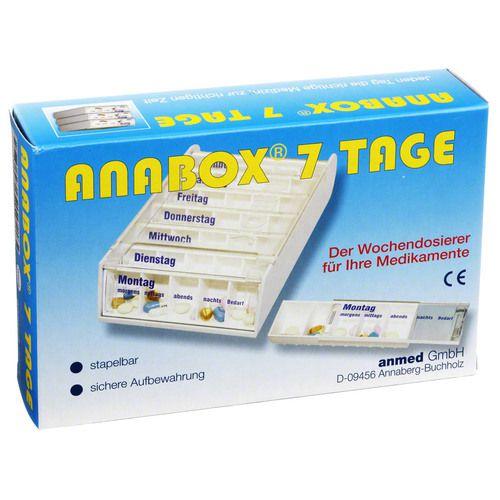 ANABOX 7 Tage Wochendosierer weiß