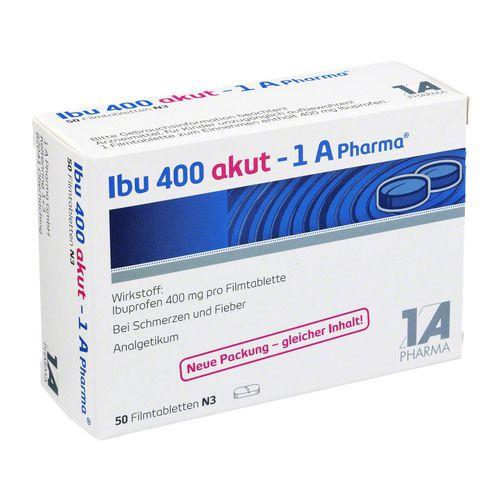 IBU 400 akut 1A Pharma Filmtabletten