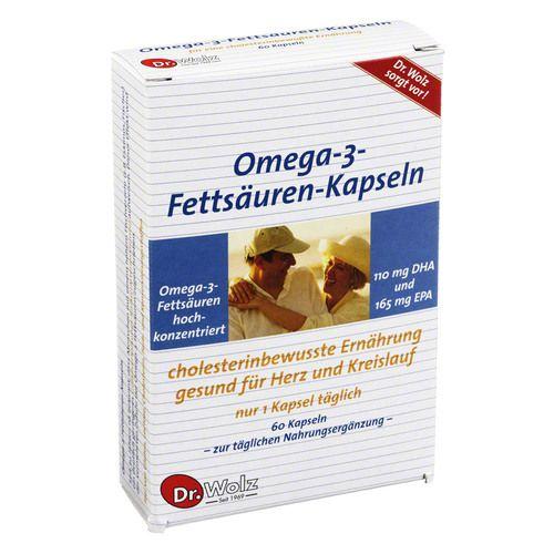 OMEGA 3 Fettsäuren 500 mg/60% Kapseln 60 St