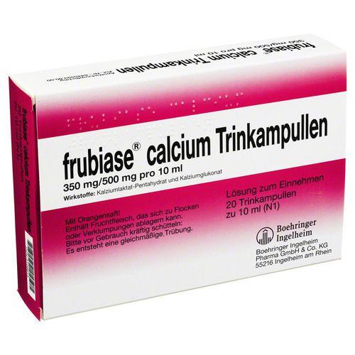 frubiase calcium t trinkampullen vitamine mineralien. Black Bedroom Furniture Sets. Home Design Ideas