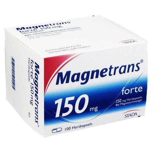 MAGNETRANS forte 150 mg Hartkapseln