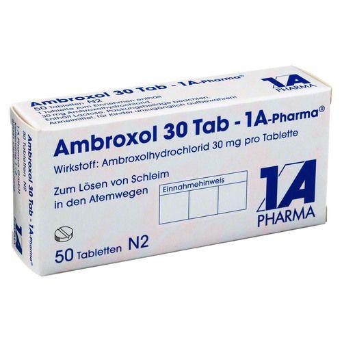 AMBROXOL 30 Tab-1A Pharma Tabletten