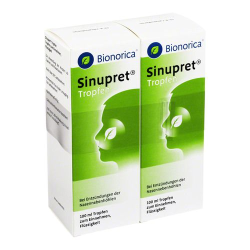 sinupret tropfen 2x100 ml arzneimittel omp versandapotheke. Black Bedroom Furniture Sets. Home Design Ideas